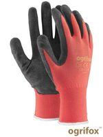 Перчатки защитные, изготовленные из полиэстера, покрытые латексом,9 размер,OX-LATEKS CB