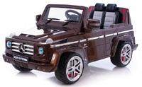Детский электромобиль Мерседес-Бенц G55 AMG коричневый
