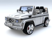 Детский электромобиль Мерседес-Бенц G55 AMG металлик