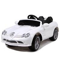 Детский электромобиль Mercedes SLR 722S белый