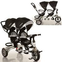 Детский трехколесный велосипед для двойни M 3116TW-3A