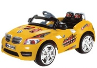 Детский электромобиль BMW Z8 X-Rider (жёлтый)