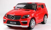 Детский электромобиль Mercedes-Benz ML 63 AMG ERS-2 красный