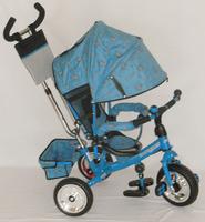 Велосипед трехколесный Profi Trike M 0448-1 (NEW) колясочного типа