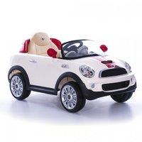 Детский электромобиль Geoby Mini Cooper S W446EQ с электрическим мотором 6V