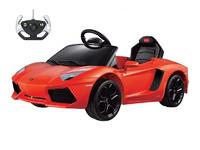 Детский электромобиль Lamborghini Aventador LP 700-4 (оранжевый)