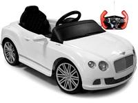 Детский электромобиль Bentley GTC (белый)