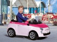 Детский электромобиль FIAT 500 Pink