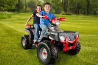 Детский Квадроцикл Polaris 850 XP Silver