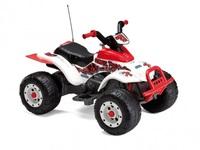 Детский квадроцикл T-Rex (бело-серый)