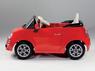Детский электромобиль FIAT 500 Red с пультом