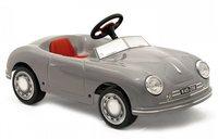 Детский педальный автомобиль Toys Toys PORSCHE 356 (серебистый) 622631