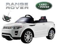 Детский электромобиль Range Rover Evoque (белый)
