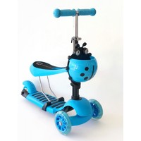 Самокат-беговел 2 в 1 QD ScooTer 0332