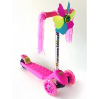 Самокат Scooter 905 розовый